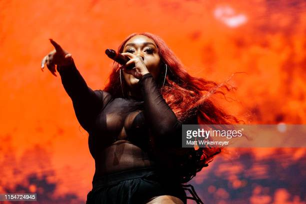 Cupcakke performs at the LA Pride 2019 on June 08, 2019 in West Hollywood, California.