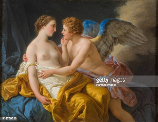 Cupid and Psyche, 1767. Found in the collection of Nationalmuseum Stockholm.