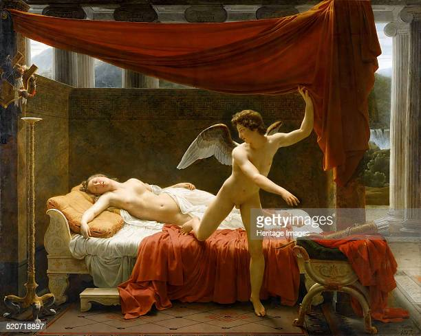 Cupid and Psyche. Found in the collection of Louvre, Paris.