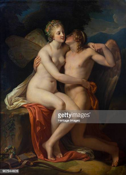 Cupid and Psyche Found in the Collection of State Museum Arkhangelskoye Estate Moscow