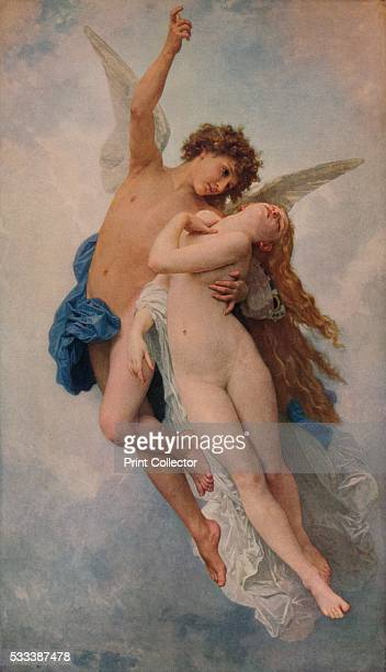 'Cupid and Psyche' from 'A Catalogue of the Pictures and Drawings in the collection of Frederick John Nettleford Volume IV' by C Reginald Grundy and...