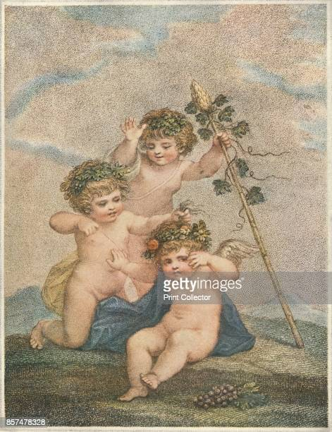 Cupids' 1903 After Lady Diana Beauclerk From Lady Diana Beauclerk Her Life and Work by Mrs Steuart Erskine [T Fisher Unwin London 1903] Artist...
