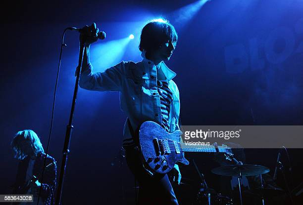 Cupids' lead singer Sid Cooper performs with the band as support to Blossoms at the Ritz in Manchester UK Photo Visionhaus/Gary Prior