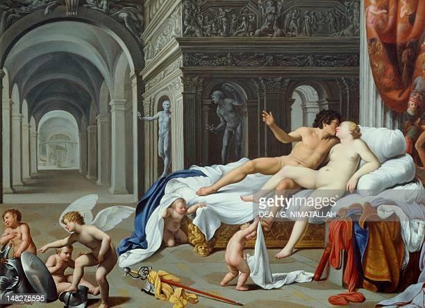 Cupids with Venus and Mars by Carlo Saraceni LuganoCastagnola Villa Favorita