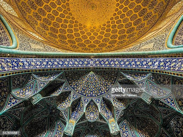 cupola view of Lotfollah mosque