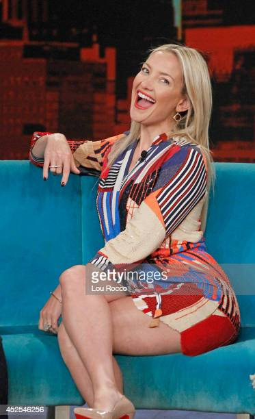 E Cupp and Jason Biggs guest cohost Kate Hudson and Emmy nominee Laverne Cox are guests today Monday July 21 2014 on Walt Disney Television via Getty...