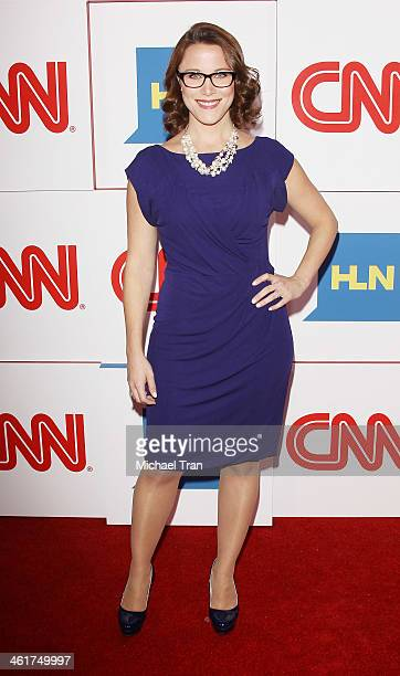 E Cupp arrives at the CNN Worldwide AllStar 2014 Winter TCA party held at Langham Huntington Hotel on January 10 2014 in Pasadena California
