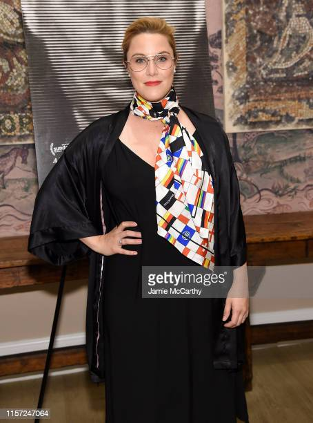 E Cupp attends the Mike Wallace Is Here New York Premiere at the Whitby Hotel on June 20 2019 in New York City