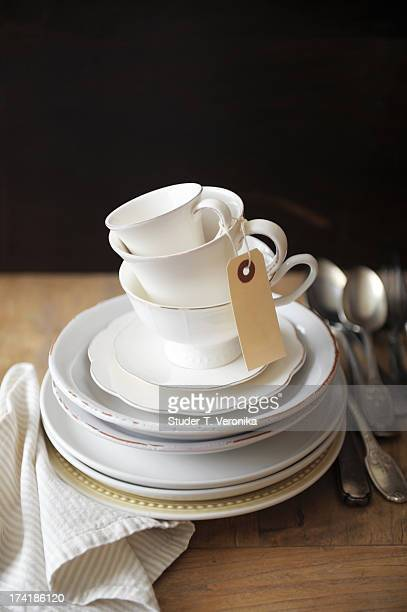 Cups and cutlery