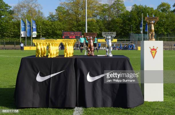 Cups during the award ceremony of the Nike Premier Cup 2017 on may 7 2017 in Berlin Germany