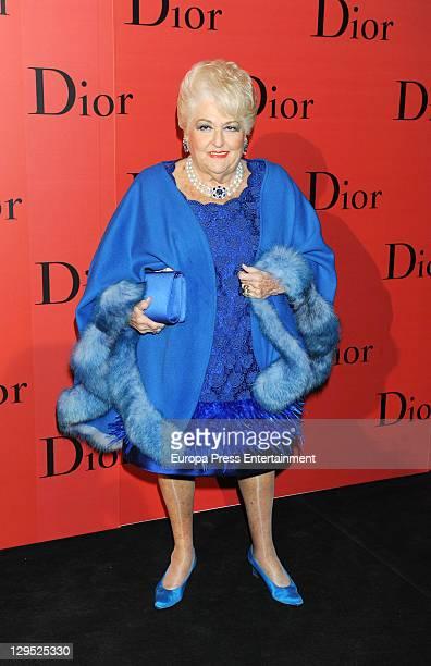 Cuqui Fierro attends 'Dior Night' party at Palacio de Cibeles on October 17 2011 in Madrid Spain