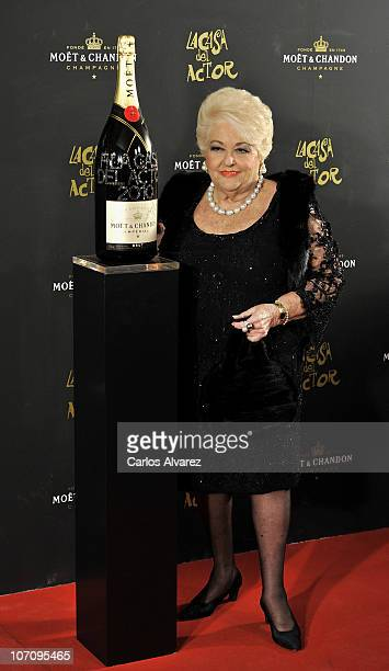 Cuqui Fierro attends Moet Chandon Charity Auction at Casino de Madrid on November 23 2010 in Madrid Spain