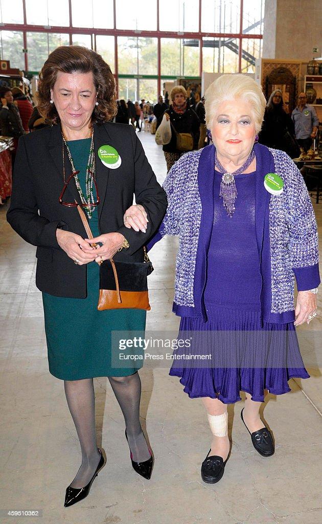 Princess Pilar de Borbon Attends 'Rastrillo Nuevo Futuro' In Madrid : News Photo