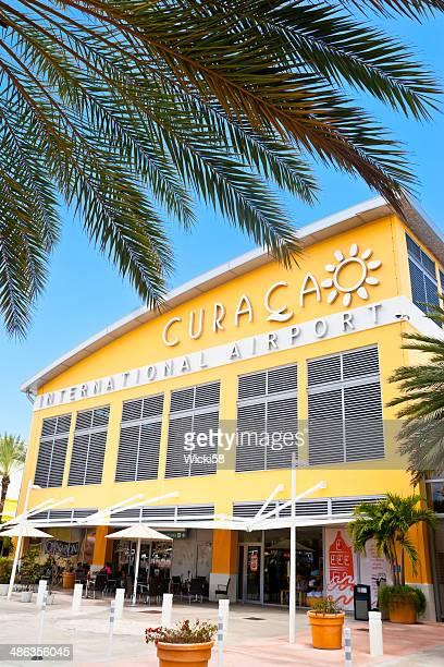 curacao international airport - curaçao stockfoto's en -beelden