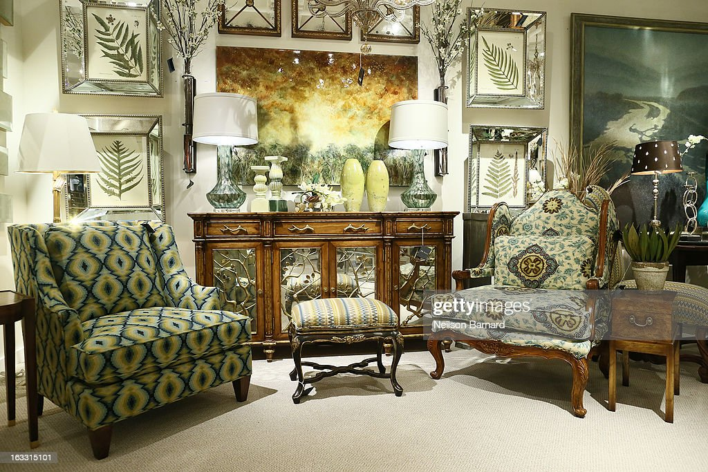 A Curated Collection Of Furniture, Lighting And Accessories On Display At  The John Richard