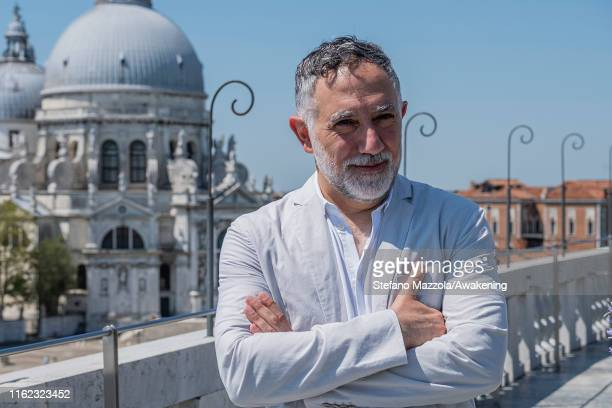 Curator Architect Hashim Sarkis attends the Biennale Architettura 2020 presentation on July 16 2019 in Venice Italy The Architecture Biennale will...