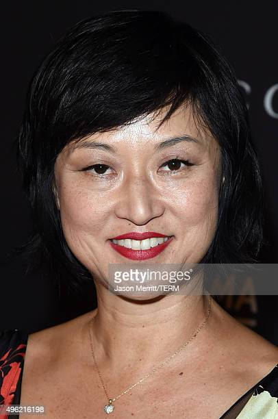 Curator Christine Y Kim attends LACMA 2015 ArtFilm Gala Honoring James Turrell and Alejandro G Iñárritu Presented by Gucci at LACMA on November 7...
