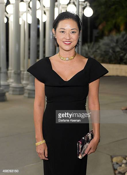 LACMA curator Christine Y Kim attends the 2014 LACMA Art Film Gala honoring Barbara Kruger and Quentin Tarantino presented by Gucci at LACMA on...
