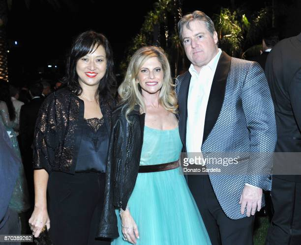 LACMA Curator Christine Y Kim LACMA Trustee Allison Berg and Senior Partner at Apollo Global Management and Chairman of McGrawHill Education Larry...