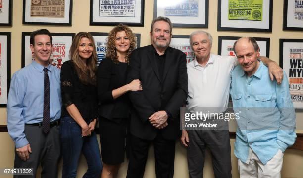 Curator of Country Music Hall of Fame Michael Gray Singer/Songwriter Matraca Berg Laura Savini Jimmy Webb Dickey Lee and Bobby Braddock pose...