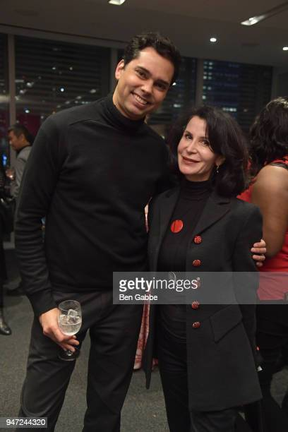 Curator of Film at MoMA and AMPAS Member at Large Rajendra Roy and Principal at Bloomberg Associates Katherine Oliver attend the Academy Museum...