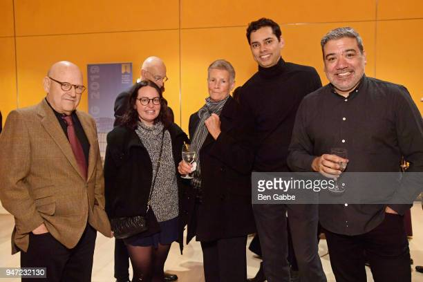 Curator of Film at MoMA and AMPAS Member at Large Rajendra Roy attends the Academy Museum Conversation at The Times Center featuring Whoopi Goldberg...