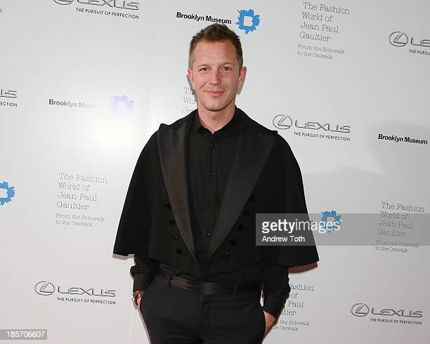 Curator ThierryMaxime Loriot attends the VIP reception and viewing for The Fashion World of Jean Paul Gaultier From the Sidewalk to the Catwalk at...
