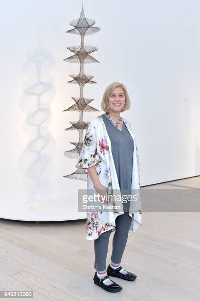 Curator Wendy Kaplan attends LACMA 2018 Collectors Committee Breakfast and Curator Presentations at LACMA on April 21 2018 in Los Angeles California