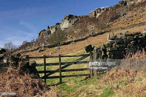 Curbar Edge Derbyshire Curbar Edge is a gritstone outcrop in the Peak District The area is popular with walkers and rock climbers