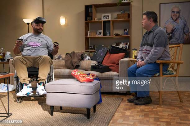 SUPERSTORE Curbside Pickup Episode 509 Pictured Colton Dunn as Garrett Chris Grace as Jerry