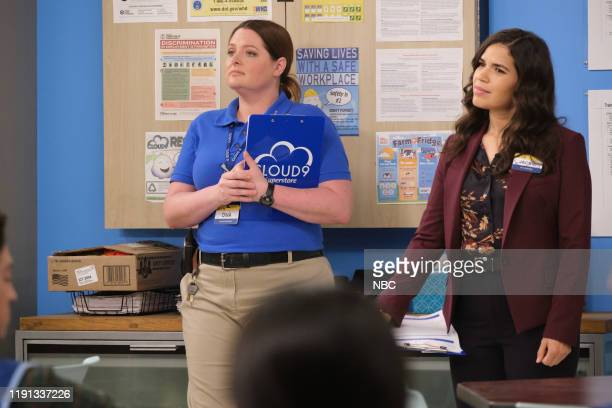 SUPERSTORE Curbside Pickup Episode 509 Pictured Lauren Ash as Dina America Ferrera as Amy