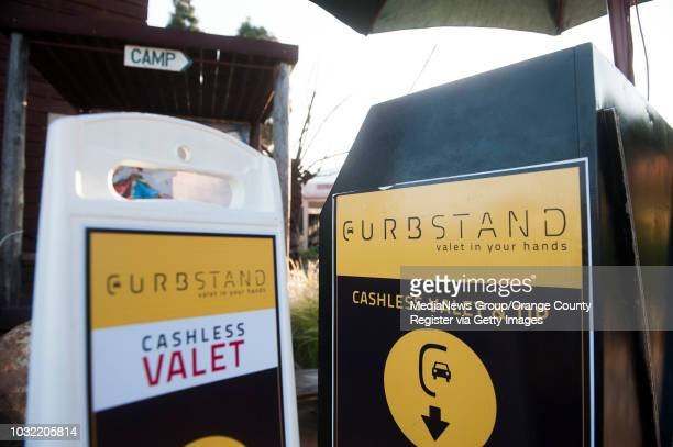 Curbstand an app for cashless valet and tipping is in nine Orange County locations including The Camp in Costa Mesa a sometimes difficult place to...