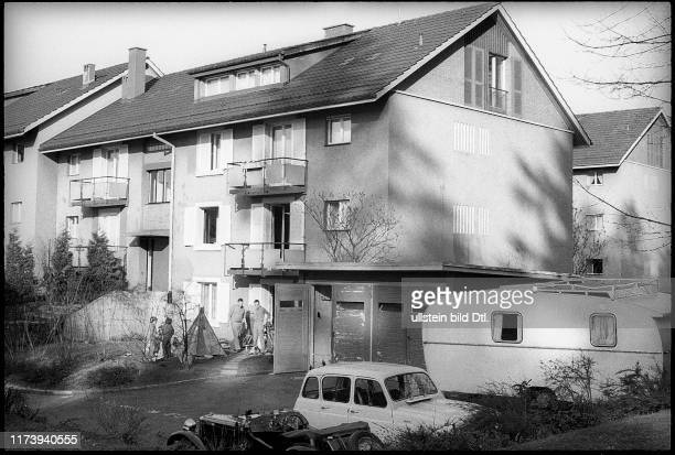 Curd Juergens' house at Rietholzstrasse 39, Zollikon 1969 Curd Juergens' house at Rietholzstrasse 39, Zollikon 1969