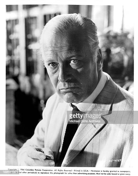 Curd Jurgens in a scene from the film 'Lord Jim' 1965