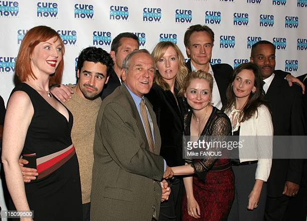 Cure Autism Now's 3rd Annual 'Acts of Love' Fundraising Event in Hollywood United States on November 08 2004 The cast of 'West Wing' NiCole Robinon...