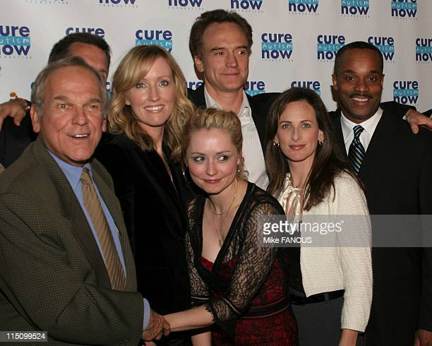 Cure Autism Now's 3rd Annual 'Acts of Love' Fundraising Event in Hollywood United States on November 08 2004 The cast of 'West Wing' John Spencer...