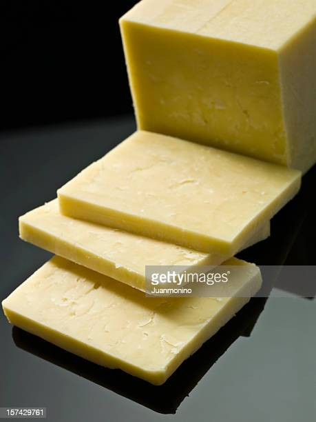 cured irish cheese (dubliner) - irish culture stock pictures, royalty-free photos & images