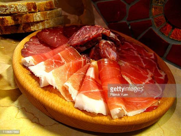 Cured meat at Eataly