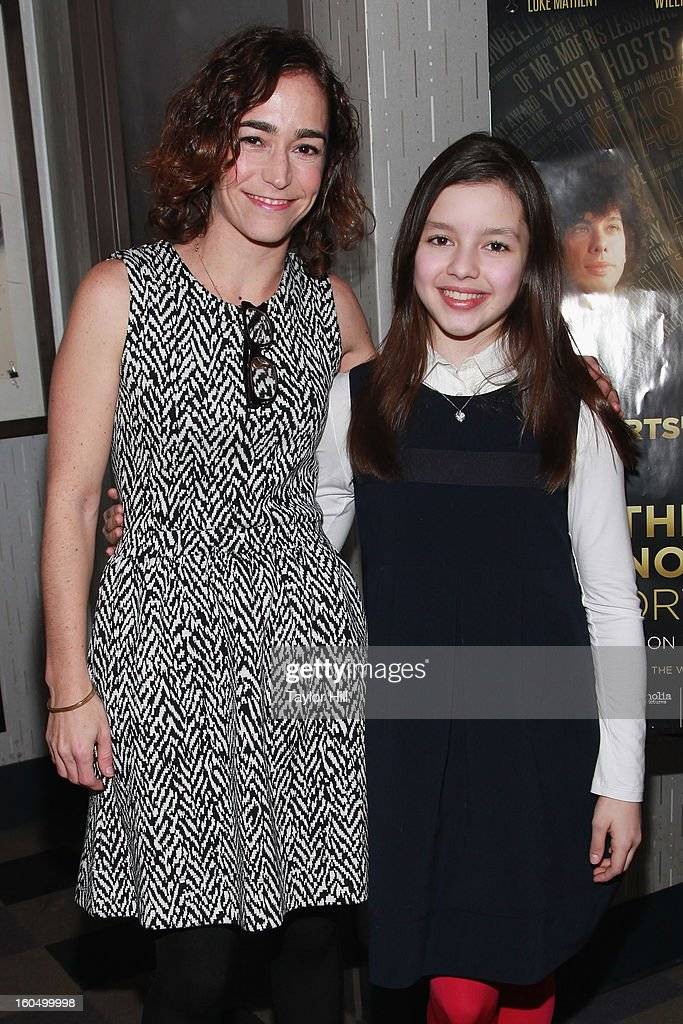 'Curfew' producer Mara Kassin and actress Fatima Ptacek attend the NYC Theatrical Opening of Oscar Nominated Short Films at IFC Center on February 1, 2013 in New York City.