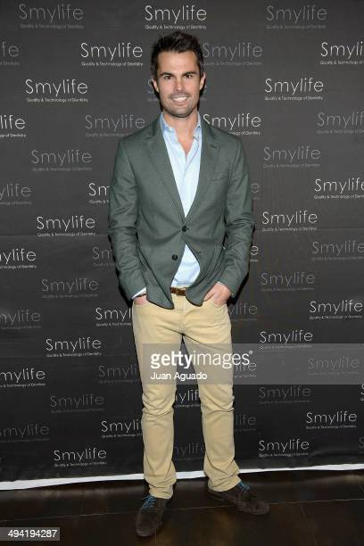 Curi Gallardo attends Smylife Event on May 28 2014 in Madrid Spain