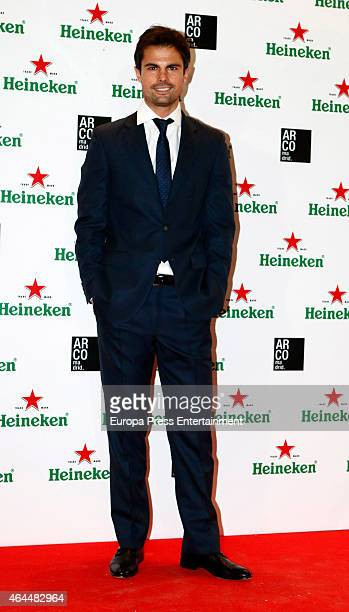 Curi Gallardo attends the Heineken party at ARCO 2015 the International Contemporary Art Fair at Ifema on February 25 2015 in Madrid Spain