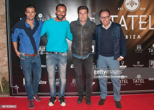 Curi Gallardo attends the opening of Tatel Restaurant on April 27 2017 in Ibiza Spain