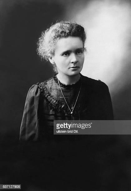Curie Marie Wissenschaftlerin Physikerin Chemikerin Polen/Frankreich Nobelpreistraegerin Portrait um 1890