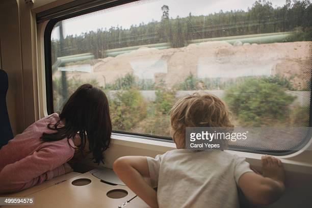 Curiosity at the train