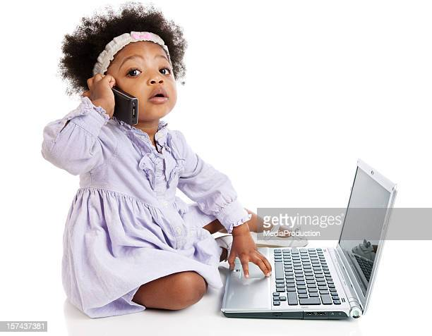 curiosity - funny black girl stock photos and pictures