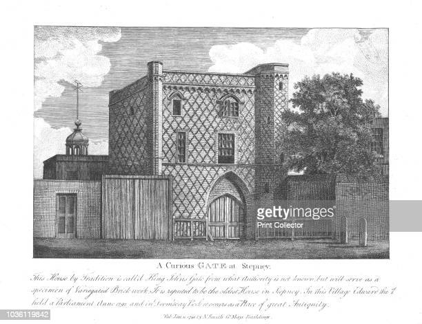 A Curious Gate at Stepney' 1791 'This House by Tradition is call'd King Johns Gate from what Authority is not known but will serve as a specimen of...