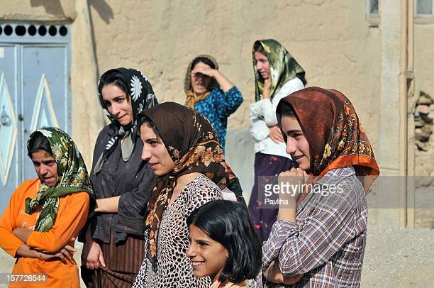 Curieux femmes en Iran de Zanjan