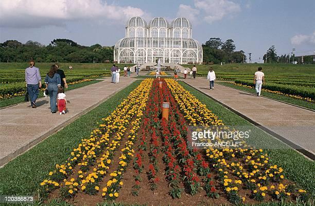Curitiba green city in Brazil in November 1992 Botanical garden