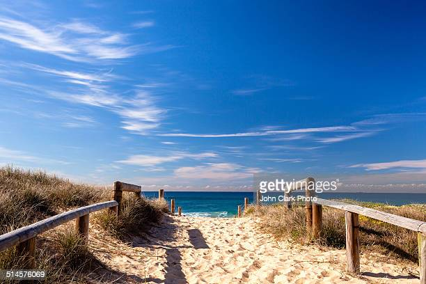 Curl Curl beach walkway