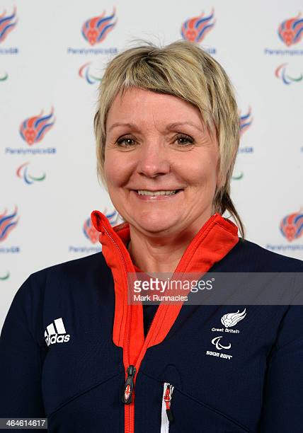 Curler Angie Malone selected to represent ParalympicsGB for Sochi 2014 Paralympic Games at the Radisson Blue hotel on January 23 2014 in Glasgow...